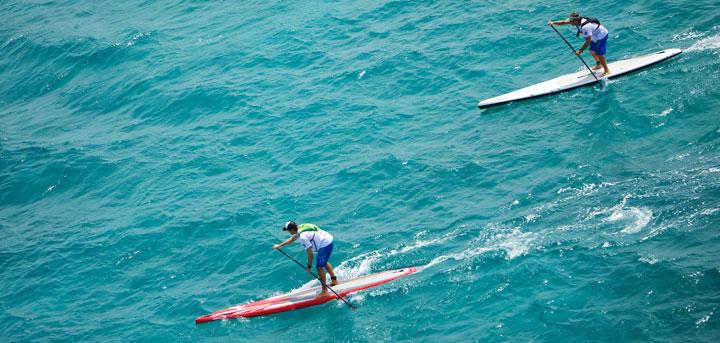 Paddleboard Downwinder Virgin Islands