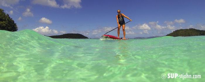 SUP Paddleboard Rental Lessons St. John USVI