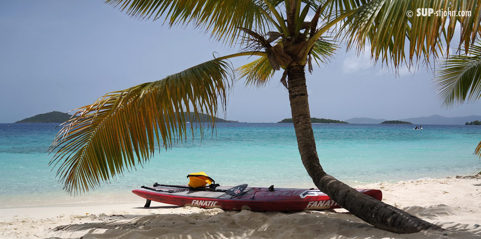 Day Trip Cruise Ship St. Thomas St. John Paddleboarding