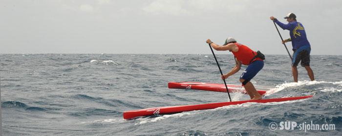 Virgin Island SUP Downwin