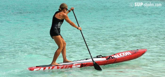 Paddleboarding @ Hawksnest, St. John