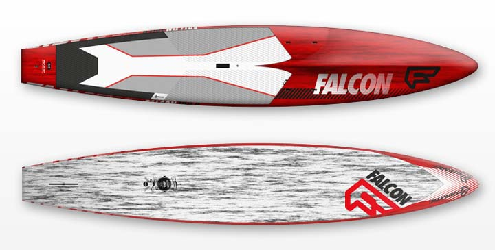Fanatic Falcon Open Ocean Carbon Race Board for rent
