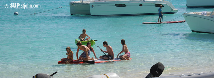 Paddleboarding for Kids St. John